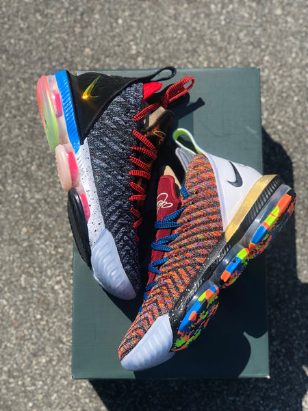 check out 24aaa ac78a Lebron 16 1 Thru 5