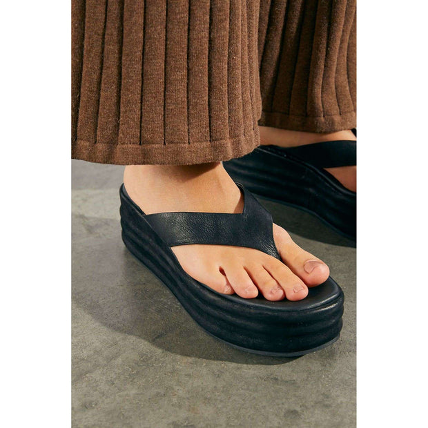 Haven Thong Flatform Sandals - Beloved Boutique