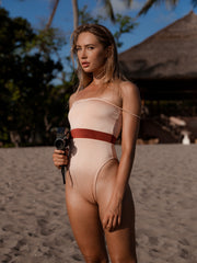 Adriana One Piece - Peach/Copper  - IMME swimwear