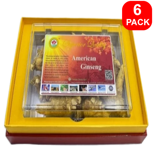 5-Year Selected Prongy Ginseng 200g 6 units