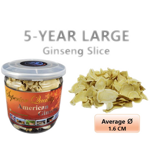 5-Year Ginseng Large Slice 60g