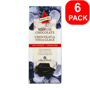 Turkey Hill Ice Wine Chocolate Bar 100g 6 Units
