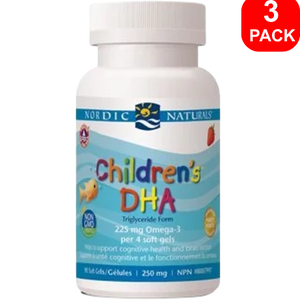Nordic Naturals Children's DHA 90ct 3 Units