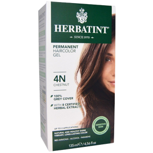 Herbatint Natural Herb Based Hair Colour 4N Chestnut
