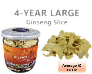 4-Year Ginseng Large Slice 60g