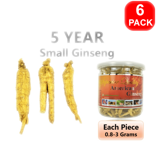 5-Year Small Ginseng 90g 6 units
