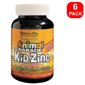 Animal Parade Kidzinc Lozenges 6 units