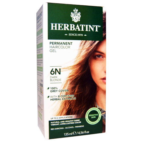 Herbatint Natural Herb Based Hair Colour 6N Dark Blonde