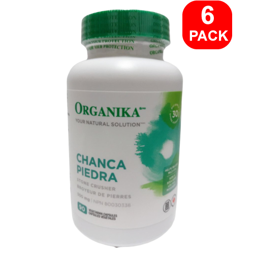 Organika Chanca Piedra 90ct 6 Units
