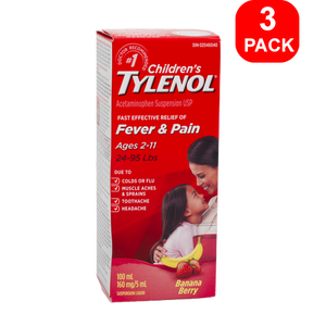 Children's Tylenol 100 ml 3 units