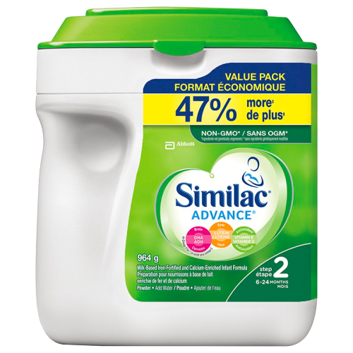 Similac Advance NON-GMO Step2 (6-24months) 964g