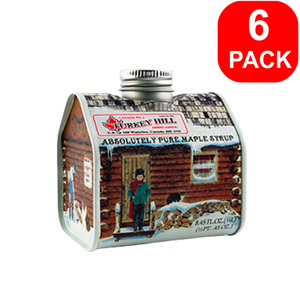Turkey Hill Maple Syrup House Tin 250ml 6 Units