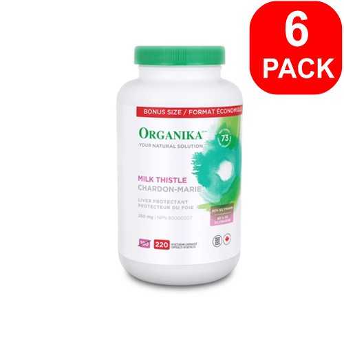 Organika Milk Thistle 220ct 6 Units