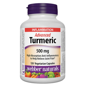 Webber Natural Turmeric 120ct