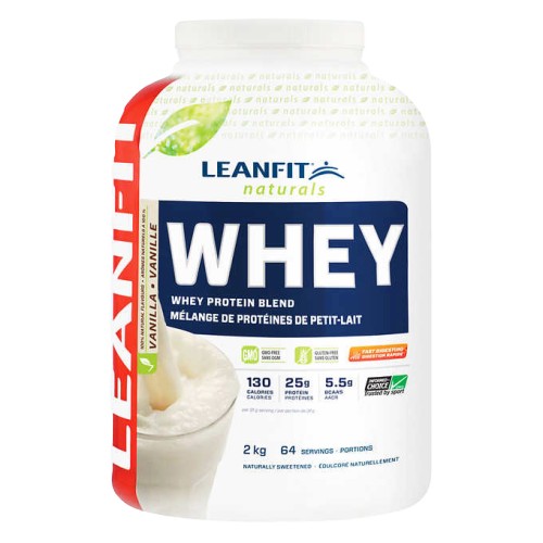 LeanFit Naturals Whey Protein 2kg