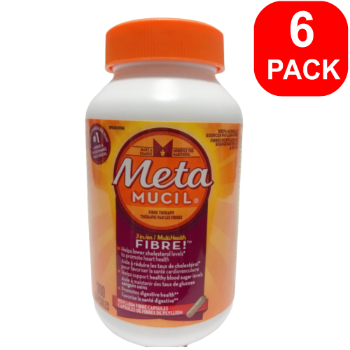 MetaMucil Fibre 300 capsules 6 Units
