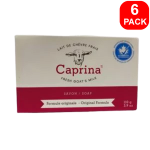Caprina Fresh Goat's Milk Soap 110g 6 units