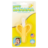 Baby Banana Infant Toothbrush Yellow