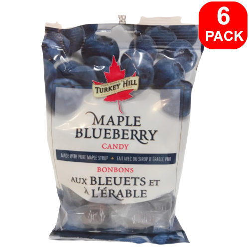 Turkey Hill Maple Blueberry Candy 90g 6 Units
