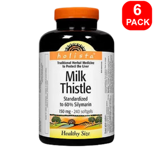 Holista Milk Thistle 240ct 6 units
