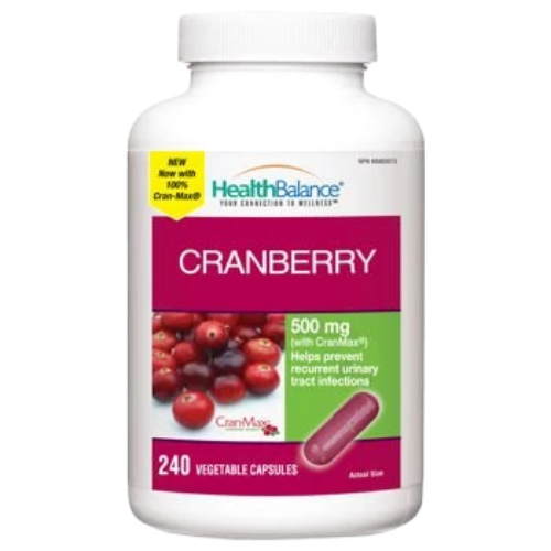 Health Balance Cranberry 500mg 240ct