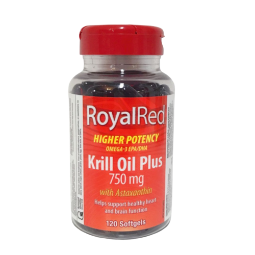 RoyalRed Krill Oil Plus 750mg 120ct