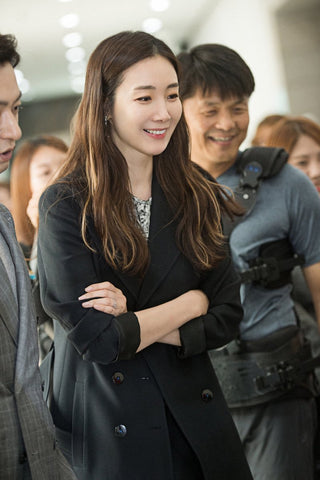 Choi Ji-Woo Woman with a Suitcase