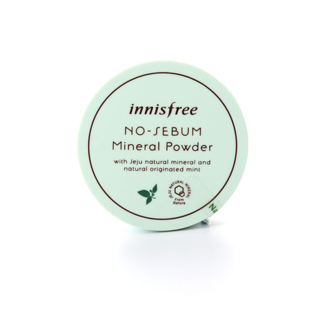 Innisfree's No Sebum Mineral Powder