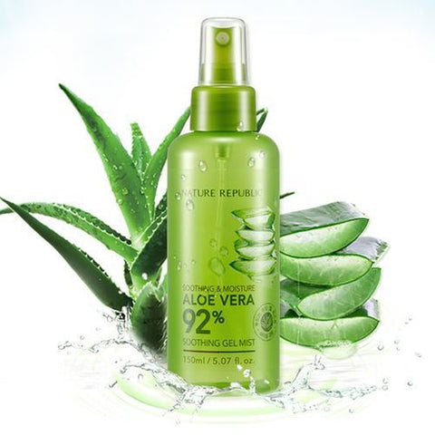 Nature Republic Soothing Moisture Aloe Vera 92 Soothing Gel Mist