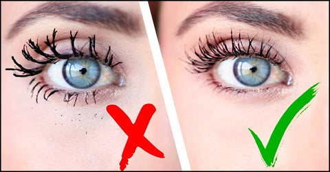 Not Applying Mascara Correctly