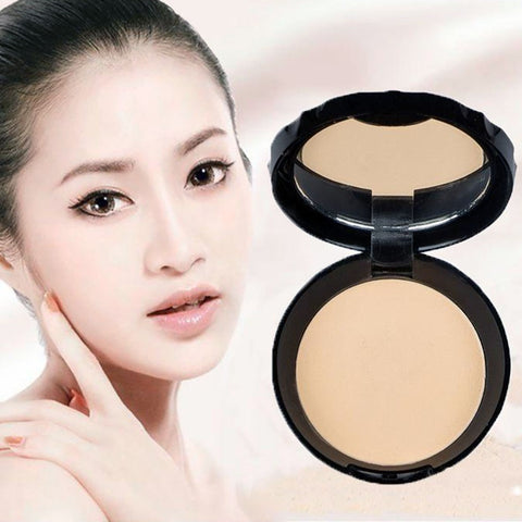 Women with Face Powder