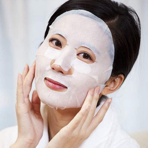 Women with K-Beauty Face Mask 1