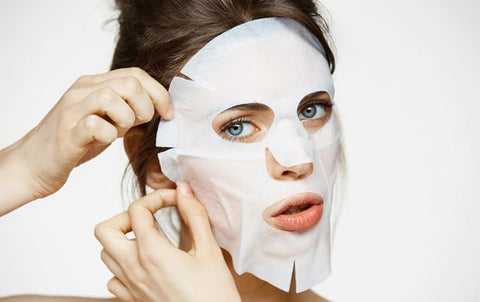 Women with K-Beauty Face Mask 3