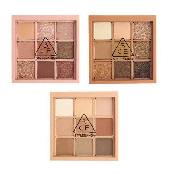 Mood Recipe Multi Eye Color Palette - 3 Types (1pc)