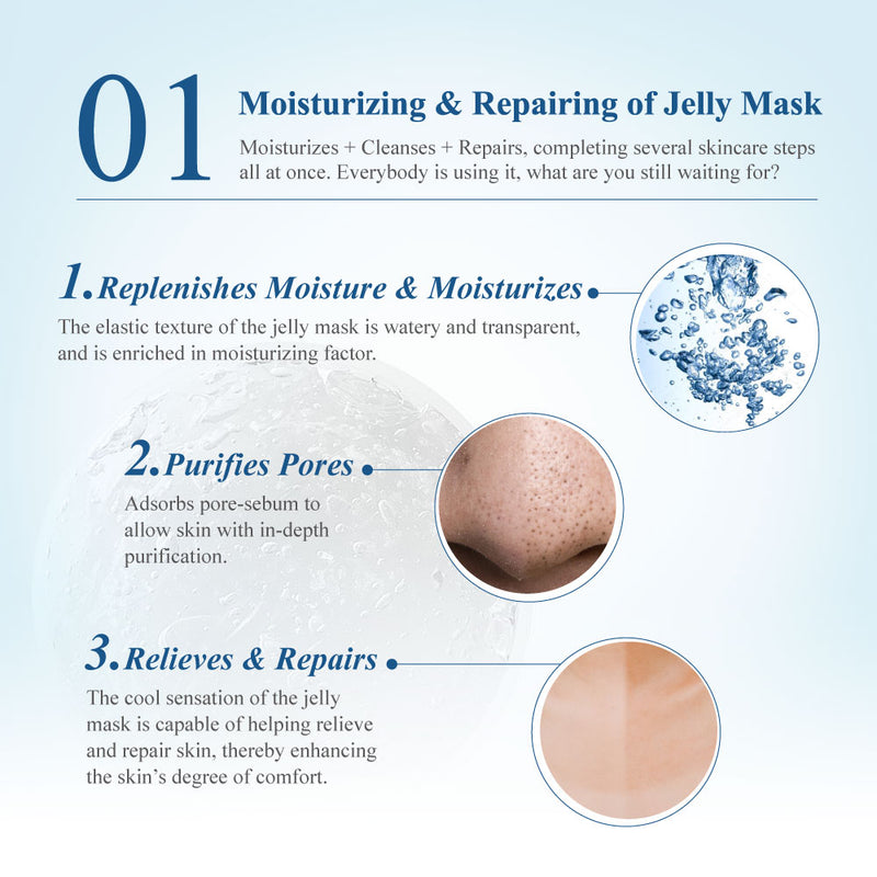 Arbutin + Hyaluronic Acid Brighting Jelly Mask