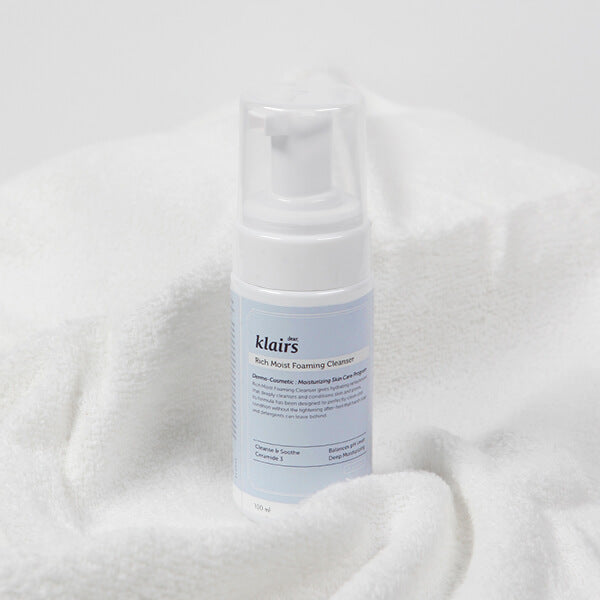 Rich Moist Foaming Cleanser (100mL)