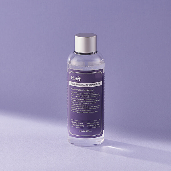 Supple Preparation Unscented Toner 180ml