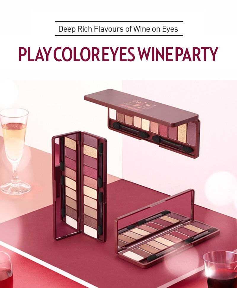 Play Color Eyes Wine Party