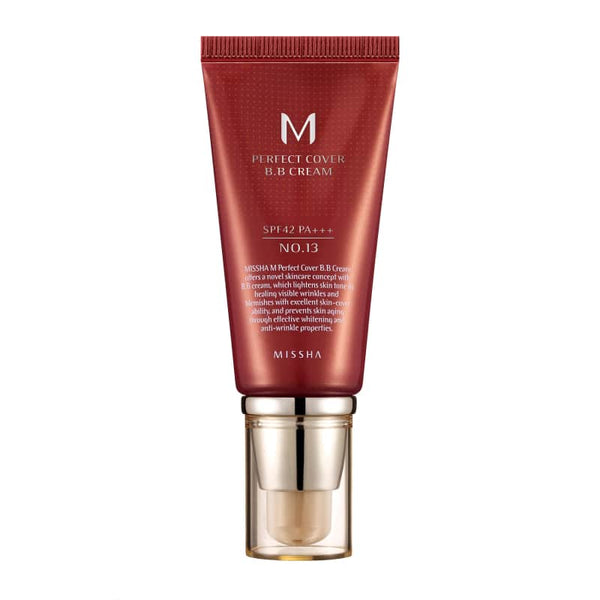 M Perfect Cover BB Cream SPF42 PA+++ 5 Colors (50ml)