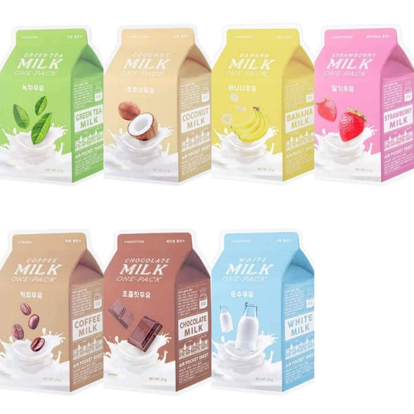 Milk One Pack 1pc (7 Flavors) - Keoji