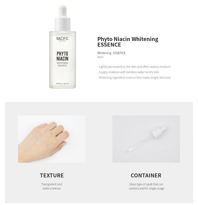 Phyto Niacin Whitening Essence 50ml