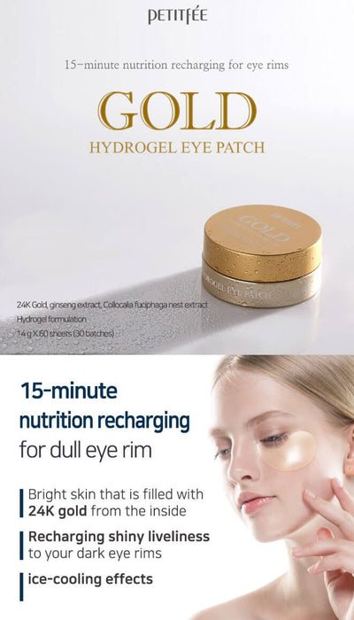 Gold Hydrogel Eye Patch (60pcs)