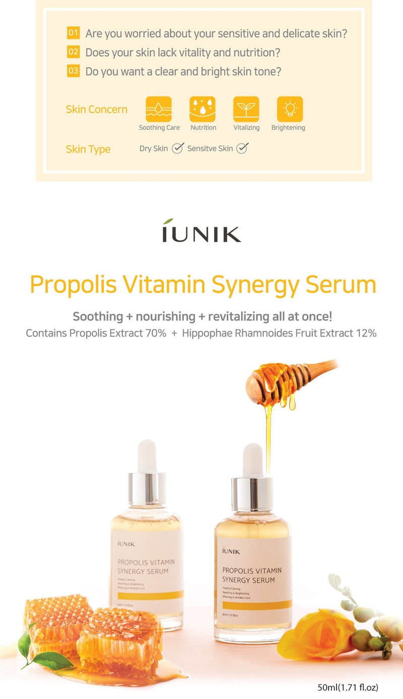 Propolis Vitamin Synergy Serum (50ml)