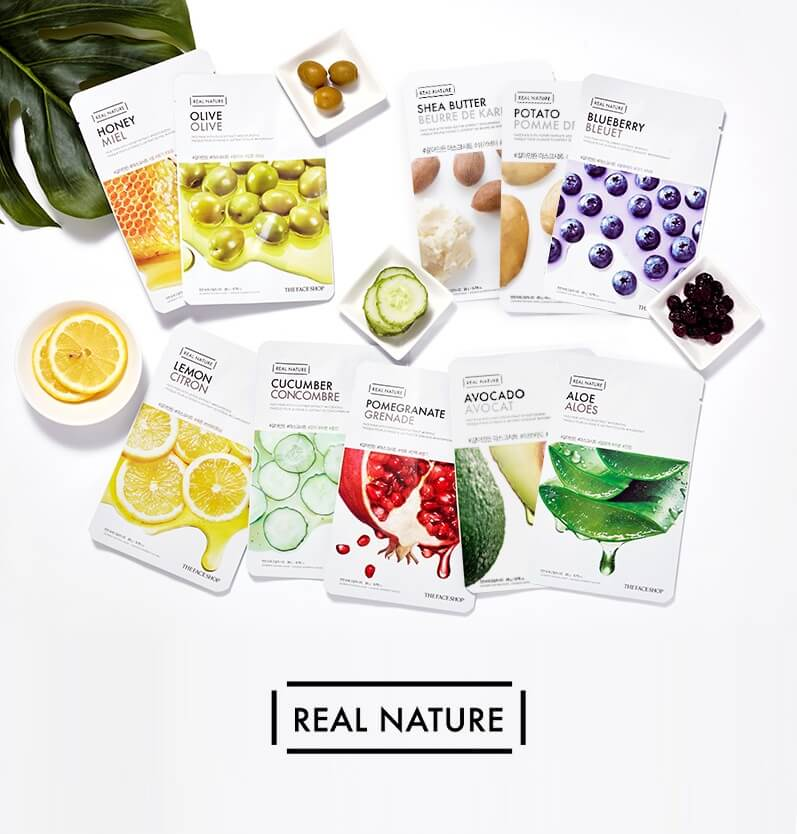 Real Nature Face Mask (1pc)