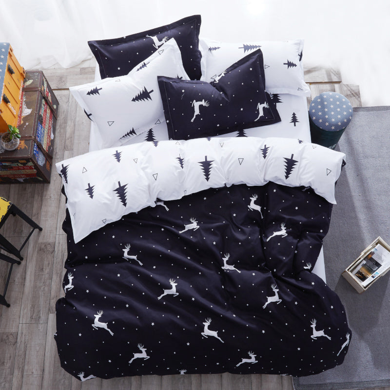 Flower Fruit 3/4pcs Bedding Sets - HomeZeal  Store