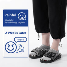 Load image into Gallery viewer, Stone Acupressure Slippers Reflexology Foot Massager