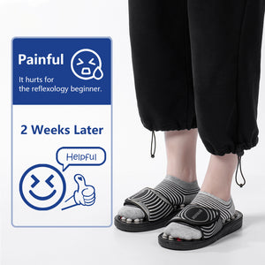 Stone Acupressure Slippers Reflexology Foot Massager