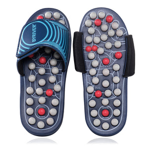 Acupressure Slippers Sandals, Plantar Fasccitis Foot Massager