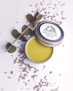 Organic Healing Salve with Lavender and Eucalyptus oils
