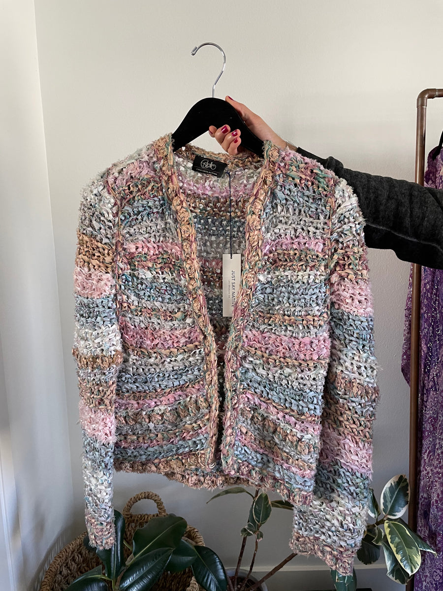 Estelle Pastel Cardigan - Just Say Native